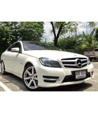 ฟรีดาวน์ 2012 MERCEDES BENZ C180 COUPE AMG