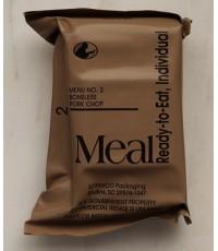 MRE อาหารสำเร็จรูปของกองทัพสหรัฐ