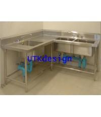 อ่างซิงค์ล้างจาน-3-หลุมแบบเข้ามุม-NO.TBS03