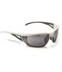 แว่นกันแดด Merida รุ่นเลนส์ดำใหญ่กรอบขาว
