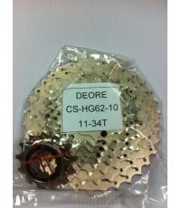 สเตอร์Shimano Deore10 HG62 11-34T