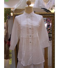 เสื้อผ้าสีขาวลูกไม้