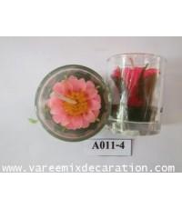 ดอกทานตะวันในแก้ว