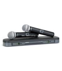 Wireless Microphone SHURE PG288E/PG58 ถือคู่ (ของแท้ มหาจักร)