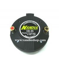 ทวิตเตอร์ Unit Driver NANOVA CD-35