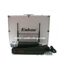 ชุดไมโครโฟนไร้สาย ENBAO SG-922 ไมค์ลอยถือคู่