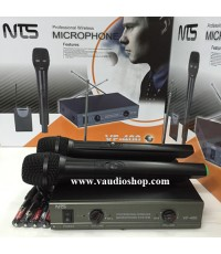Wireless Microphone NTS VF-400 ถือคู่ VHF