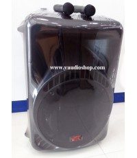 ตู้แอมป์ 15 นิ้ว NPE รุ่น MK-15BAT BLUETOOTH (ไมค์ลอย2ตัว/แบตแห้ง/USB/SD CARD)
