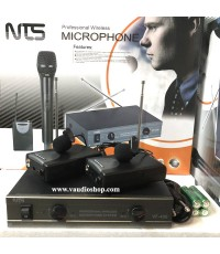 Wireless Microphone NTS VF-400 หนีบคู่ VHF