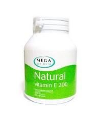 Mega Natural Vitamin E 200 IU 60 วิตามินอี เมก้า