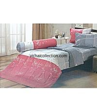 """ชุดเครื่องนอน ครบชุด ทิวลิป CR029 เตียงเดี่ยว 3.5' x 6.5' x 8"""""""