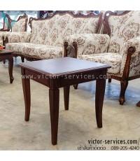 เช่าโต๊ะ - โต๊ะข้างโซฟาไม้ (เล็ก)