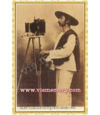 โปสการ์ดชุดสยามในอดีต กรมพระยาดำรงราชานุภาพและกล้องคู่พระหัตถ์