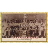 โปสการ์ดชุดสยามในอดีต พระบาทสมเด็จพระปกเกล้าเจ้าอยู่หัว รัชกาลที่ ๗