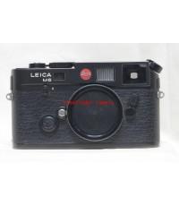 Leica M6 TTL 0.72 Black Body สภาพ 85