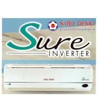 แอร์ซัยโจ SAIJO DENKI Inverter Sure R32-25 25526 BTU  ติดตั้งฟรี! เบอร์5