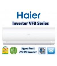 แอร์ ไฮเออร์ HAIER HSU-18VFB (INVERTER) (R32) 18000 BTU (SEER 18.50) รับประกันคอม10ปี ติดตั้งฟรี!