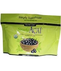 Madre Labs, Simply Acai, Certified Organic, Acai Berry Powder, 8 oz (227 g), Re-Sealable Bag