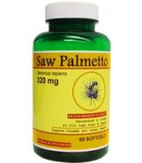 วิตามิน Saw Palmetto ลดอาการผมร่วงในเพศชาย 320 มิลลิกรัมจากสหรัฐอเมริกา บรรจุ 60 เม็ด