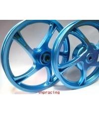 ล้อแม็กลายเดิมมีโอ ฟีโน่ นูโว MIO FINO NOUVO สีพิเศษ สีฟ้า คลิ๊กด้านในครับ (สั่งทำสี14 วัน)