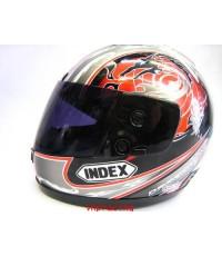 หมวกกันน๊อค INDEX 811-18 ดำลาย
