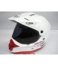 หมวกกันน็อค INDEX รุ่น EXTREME-3 สีขาว(ใหม่ล่าสุด) (เลิกผลิต)