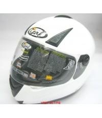 หมวกกันน๊อค REAL รุ่น G-Force ขาวเงา (เลิกผลิต)