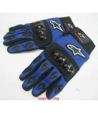 ถุงมือ ALPINESTAR สีน้ำเงิน