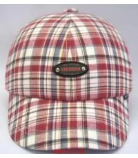 หมวกกันน๊อค nexttex หุ้มผ้า ลายสก๊อตแดงขาว GEN3(เลิกผลิต)