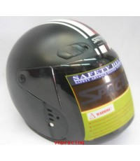 หมวกกันน็อค SPACE CROWN รุ่น EX series สีดำด้าน  (สินค้าหมด)