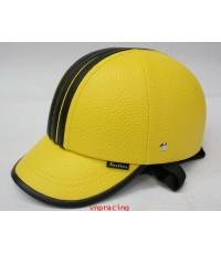 หมวกกันน๊อค nexttex ลายอดิดาส สี เหลืองดำ(เลิกผลิต)