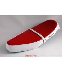เบาะฟีโน่ขนมปัง YF0160 แดงขาว