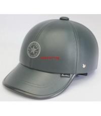 หมวกกันน๊อค nexttex หุ้มหนัง ลายALL STARสีดำเรียบ GEN3 (เลิกผลิต)