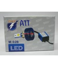 ชุดไฟหน้า LED High power สำหรับมอเตอร์ไซค์ !!เทคโนโลยีใหม่!!