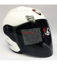 หมวกกันน็อค rider รุ่น JZ-X สีขาว