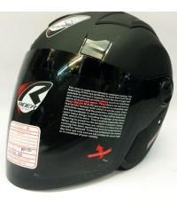 หมวกกันน็อค rider รุ่น JZ-X สีดำด้าน