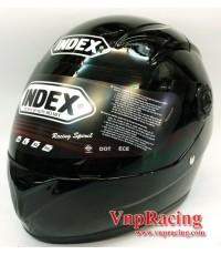 หมวกเด็กเต็มใบ INDEX รุ่น RANGER ROOKIE สีดำ