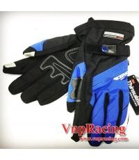 ถุงมือ SCOYCO รุ่น MC18 แบบยาว สีน้ำเงิน ++ลดราคาพิเศษ++