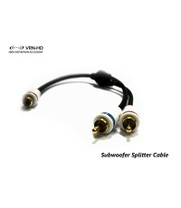 RCA ตัวผู้ 2 ตัวเมีย 1, Subwoofer Splitter Cable