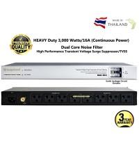 SER-8S เครื่องลดทอนไฟกระชากและสัญญาณรบกวนแบบ HEAVY Duty 3,000 Watts/16A (Continuous Power)