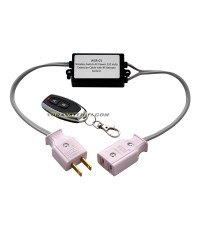 WSR-01 Wireless Switch AC Power 220 Volts Extension Cable with RF Remote Control