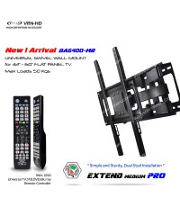 New! DA6400-MR Extend Medium PRO ขาแขวนทีวี 32 - 60 inch LED TV,Full Motion with 4 in 1 TV Remote