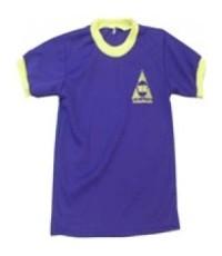 เสื้อพละ VP7003 ราคา 160 บาท พร้อมปักโลโก้ 1 จุด จำนวนสั่งซื้อ 701 - 1,000 ตัว