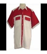 เสื้อช็อป ยูนิฟอร์ม VP8017