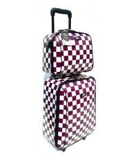 กระเป๋าเดินทาง 20 นิ้ว ลาย หมากฮอต ราคา พิเศษ! 1,600 บาท ปกติราคา 1,950 บาท