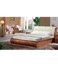 เตียงนอน wangswit ขนาด 6 ฟุต รุ่น E-128 พร้อม ตู้ข้างเตียงเข้าชุด