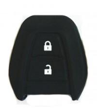 WASABI ซิลิโคนกุญแจรถยนต์ Isuzu All New D-MAX(สีดำ)
