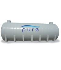 ถังเก็บน้ำฝังใต้ดินไฟเบอร์กลาส PURE ทรงแคปซูล รุ่น PU-65FB ( 65000 ลิตร )