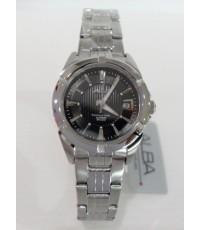 นาฬิกาอัลบ้า ALBA Ladies Watch AXT837X1 หน้าดำเรือนสเตนเลสกระจกแซฟไฟร์แท้ใหม่ประกันศูนย์