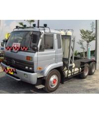 Nissan UD หัวลาก เครื่อง PE6 290 แรงม้า ติดตั้ง Dedicated NGV 100  พร้อม ถัง 8 ถัง
